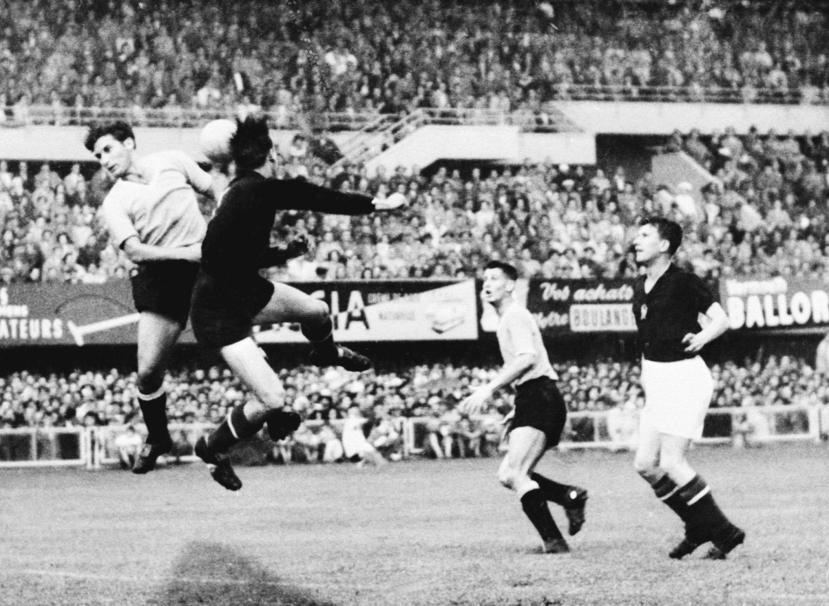 WORLD CUP-1954-HUNGARY-URUGUAY
