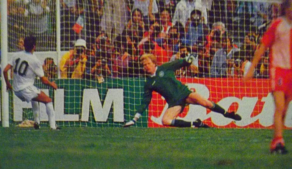 Image result for uruguay vs dinamarca 1986