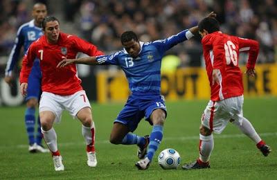 Image result for uruguay vs francia noviembre 2008
