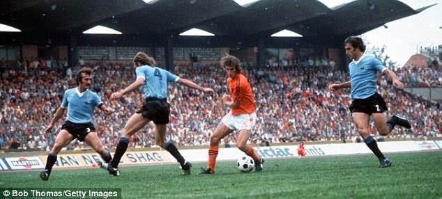 Image result for uruguay vs holanda 1974