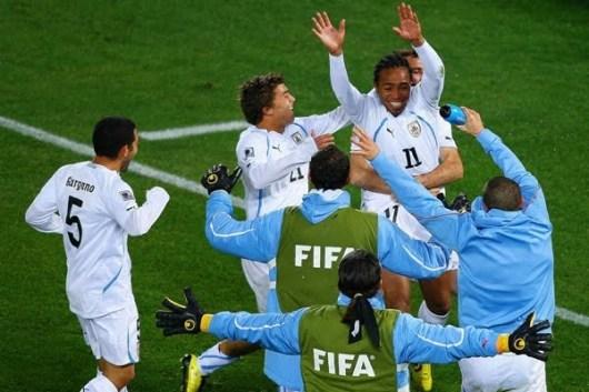 Image result for uruguay vs sudafrica 2010