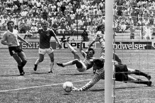 Image result for alemania vs uruguay mexico 86