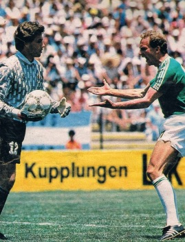 Image result for uruguay alemania 1986