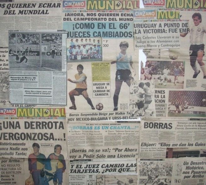 Image result for mexico 86 uruguay