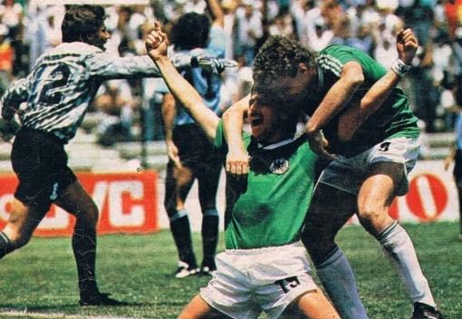 Image result for alemania uruguay mexico 86