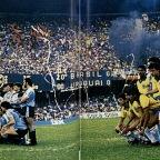 Copa América Brasil 1989: los goles de Uruguay