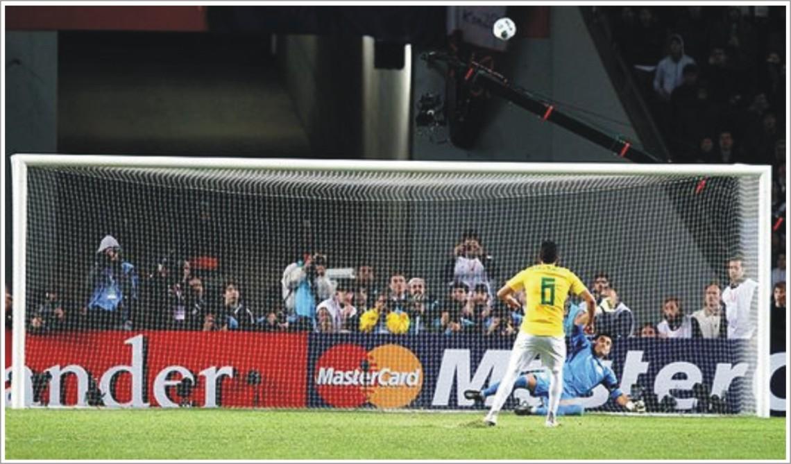 Image result for brasil 0 paraguay 0 2011 penales