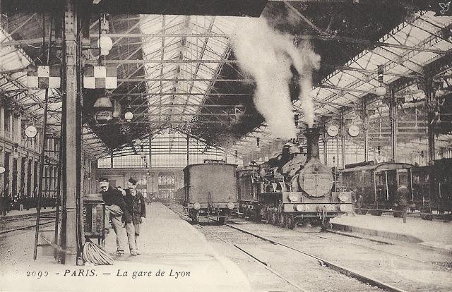 Image result for estacion de trenes Lyon 1920
